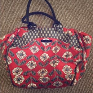 Very gently used pickled petunia diaper bag!